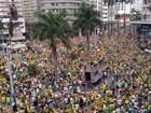 Moradores de Santos fazem 'panelaço' durante pronunciamento de ministros