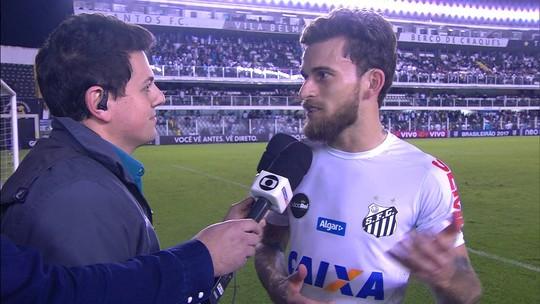Santos desconfia de proposta do Barcelona e vê ação para colocar Lucas Lima em evidência
