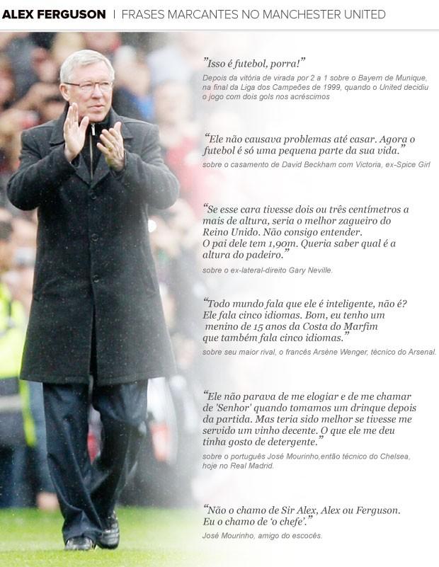 Vida Obra E Frases De Alex Ferguson Que São Pouco Conhecidas