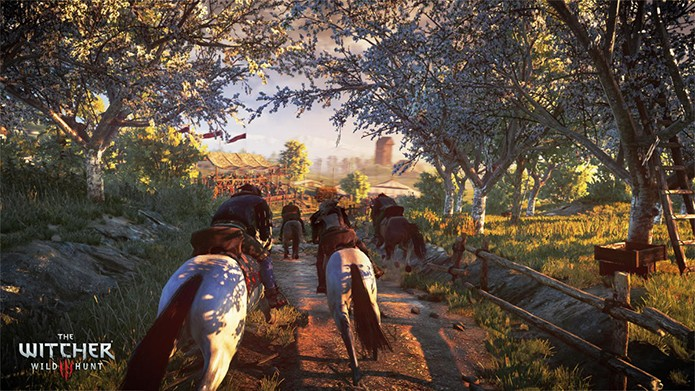 The_Witcher_3_Wild_Hunt_Horse_racing