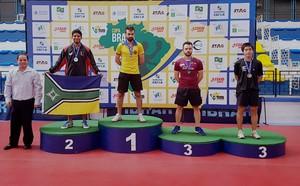 Daniel Carvalho; Tênis de Mesa; Amapá (Foto: Divulgação)