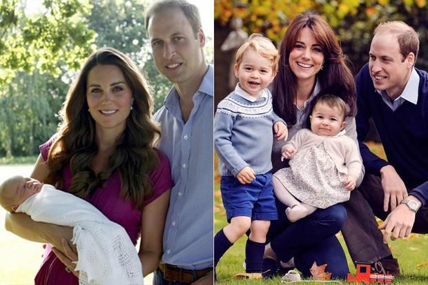 Crianças - Príncipe George e família real (Foto: Reprodução/Kensington Royal/Chris Jelf)