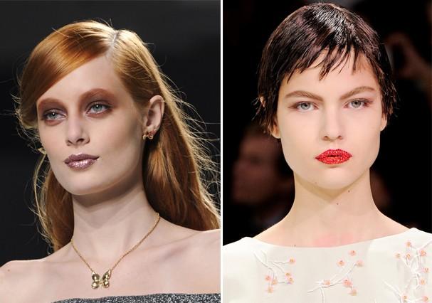 Inverno 2014 da Rodarte e verão 2013 couture da Dior (Foto: Imaxtree )