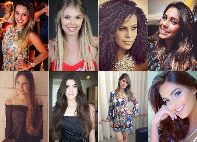 Finalistas do Garota Totalmente Demais Web (Foto: Gshow)