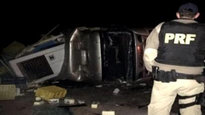 Criança morre em acidente na BR 470