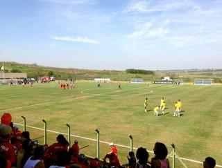 Desportivo Brasil x XV de Jaú, estádio Ernesto Rocco (Foto: Natália de Oliveira)