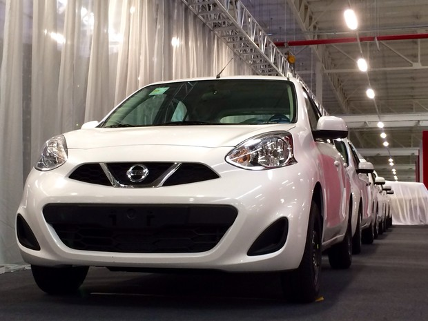 Nova fábrica da Nissan no Rio foi inaugurada nesta terça-feira (15) (Foto: Cristiane Cardoso/G1)