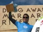 Brasileiro Mineirinho conquista título na terceira etapa do Mundial de Surfe
