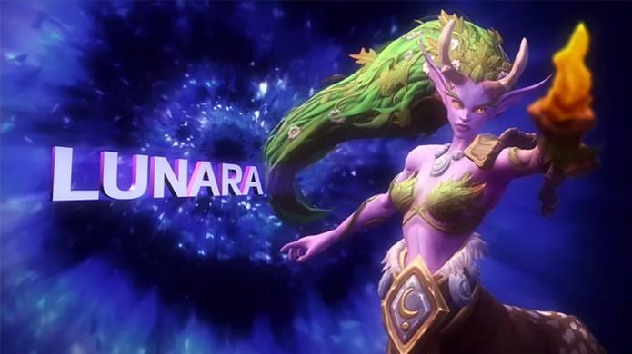 Lunara é uma dos três novos heróis anunciados para Heroes of the Storm (Foto: Reprodução/VG247) (Foto: Lunara é uma dos três novos heróis anunciados para Heroes of the Storm (Foto: Reprodução/VG247))