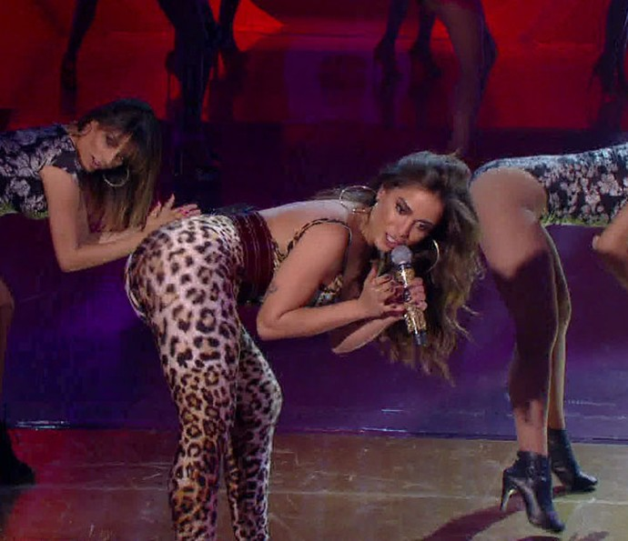 Anitta arrasa no palco do 'Esquenta' (Foto: Divulgação)