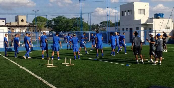 treze, pré-temporada, primeiro treino (Foto: Divulgação / Treze FC)