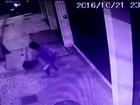 Imagens mostram grupo agredindo vítima em tentativa de assalto no Rio