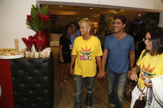 Xuxa e Junno (Foto: Fred Pontes / Divulgação)