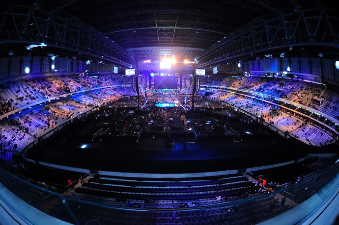 Arena da Baixada UFC 198 (Foto: Jason Silva)