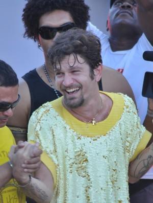 Saulo fernandes (Foto: GILBERTO SILVA/ G1)