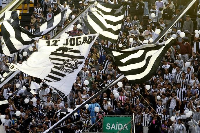 Torcida Botafogo - Arena Botafogo (Foto: Vitor Silva / SSpress / Botafogo)