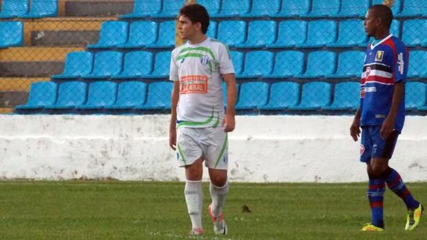 Pedro Gusmão - atacante do Bacabal (Foto: Bruno Alves)