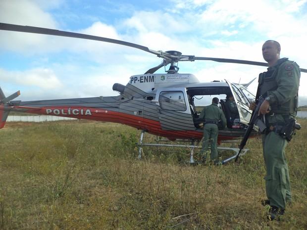 Ciopaer auxilia operação para desarticular quadrilhas (Foto: Dário Gomes/Arquivo Pessoal)