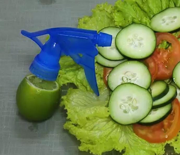 Limão em spray para salada ou aromatizar o ambiente: rola ou não rola? Testamos (Foto: Reprodução)
