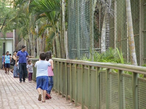 Bosque possui 67 recintos, que abrigam 500 animais de 127 espécies (Foto: Sergio Menezes/SMCS)