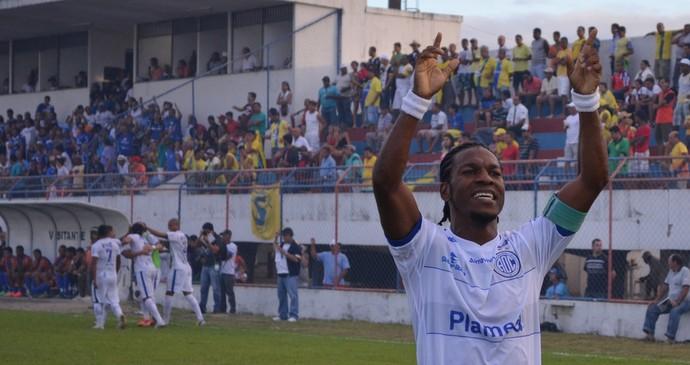 Confiança, campeão sergipano (Foto: João Áquila / GloboEsporte.com)