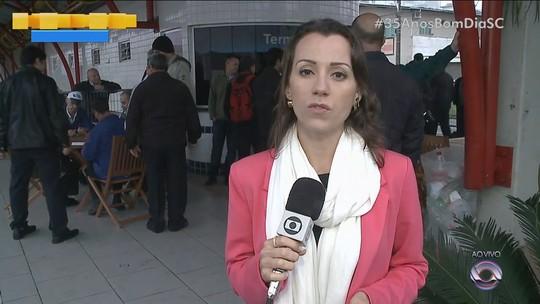 Em greve, trabalhadores do transporte coletivo de Itajaí decidem pedir demissão em massa