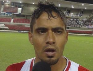 Leandro Brasília, CRB (Foto: Denison Roma / GloboEsporte.com)