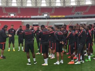 Inter, treino, Beira-Rio, Argel (Foto: Divulgação / Internacional)
