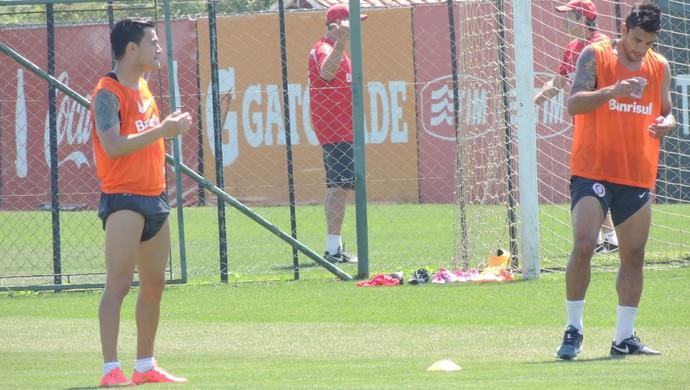 Aránguiz Alan Ruschel Inter (Foto: Tomás Hammes / GloboEsporte.com)