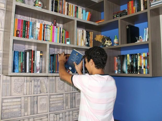 Meta surgiu após criação do blog 'Letras de Pijama' (Foto: Romulo de Sousa/G1 AM)