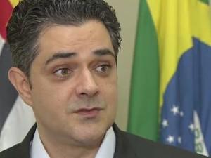 Ortiz Júnior faz balanço do primeiro ano de governo Taubaté (Foto: Reprodução/TV Vanguarda)