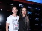 Famosos conferem lutas do UFC no Maracanãzinho