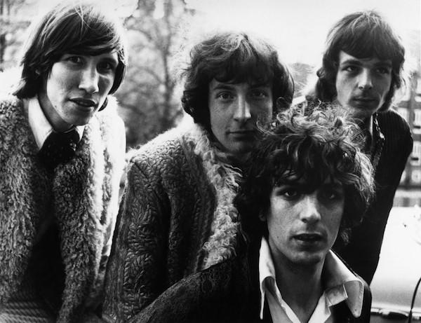 Nick Mason com seus colegas de Pink Floyd (Foto: Getty Images)