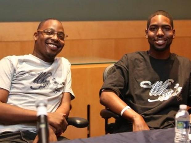 Os irmãos Dominique (à esquerda) e Stan (à direita) Larkin, após o transplante (Foto: Universidade de Michigan/Divulgação)