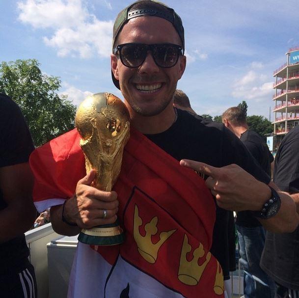Podolski (Foto: Instagram/Reprodução)