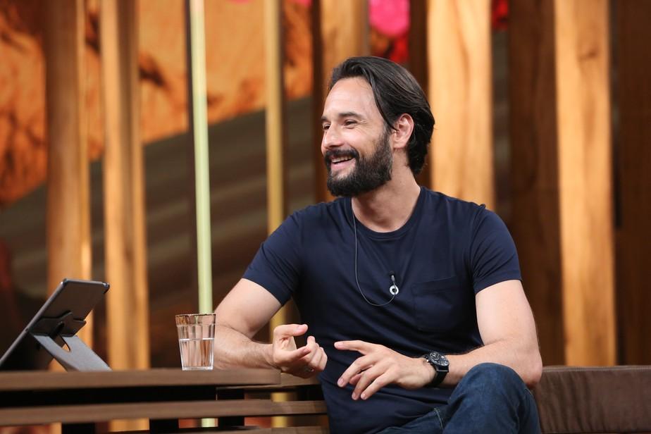 Rodrigo Santoro festeja a paternidade: 'Sempre idealizei construir uma família'