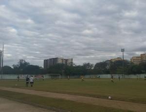 Resende treina no Estádio do Trabalhador (Foto: Diego Gavazzi/TV Rio Sul)