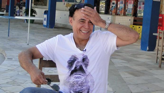 Joãozinho, ex-jogador do Cruzeiro (Foto: Marco Antônio Astoni)