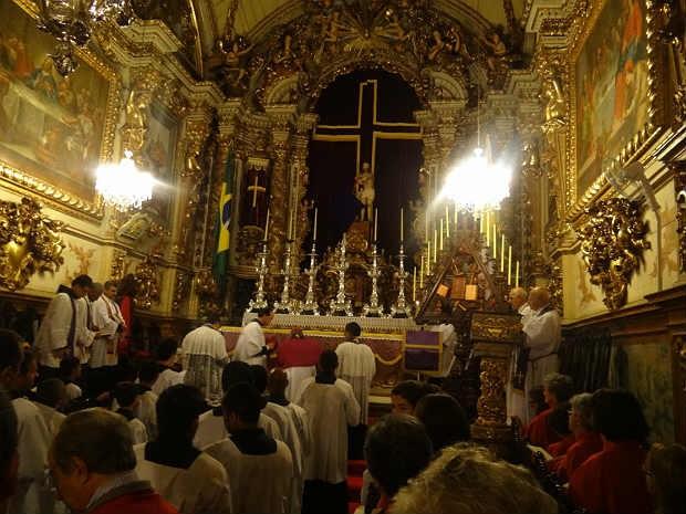 Oficio de Trevas São João del Rei 2 (Foto: Dedicom São João del Rei/ Arquivo)