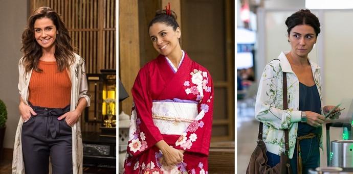 Giovanna aposta nas maios variadas formas de quimono, tanto para o verão, quanto para o inverno (Foto: Divulgação)