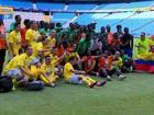Imigrantes disputam Copa dos Refugiados em Porto Alegre