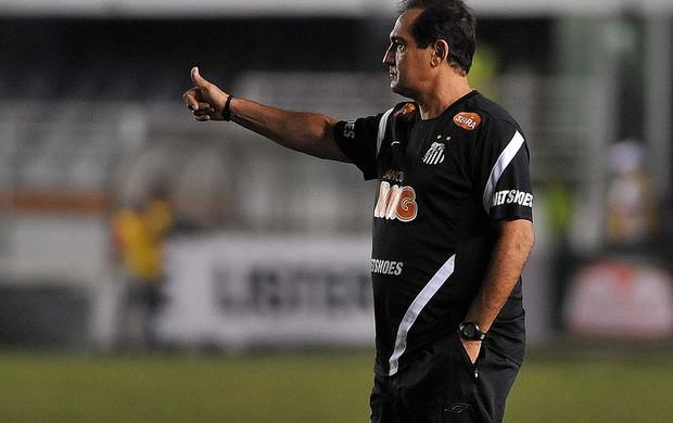 Muricy Ramalho não gostou do que viu na Vila Belmiro (Foto: Divulgação/Santos FC)