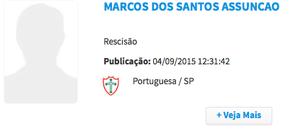 Marcos Assunção BID (Foto: Reprodução/CBF)
