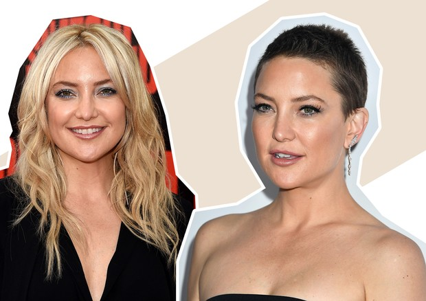 Mudança de cabelo - Kate Hudson (Foto: Kevin Winter/Frazer Harrison/Getty Images)