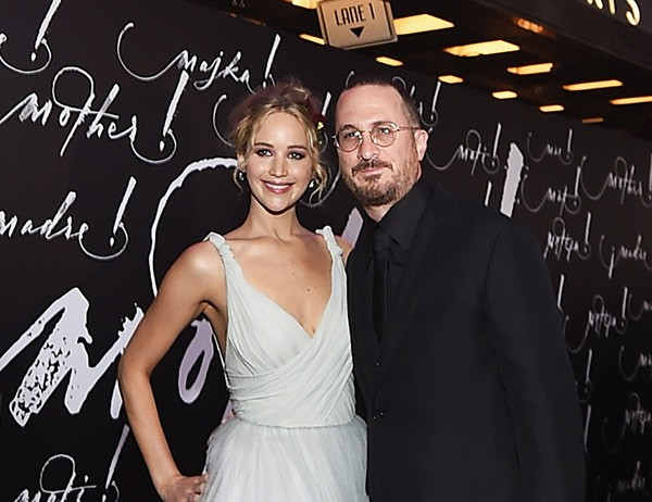 Jennifer Lawrence e Darren Aronofsky  (Foto: Getty Images)