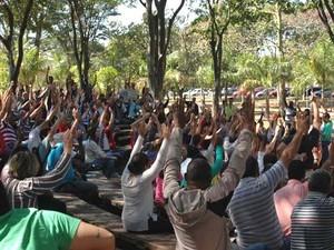 Funcionários da Unicamp decidem manter greve em Campinas (Foto: Beeroth de Souza)