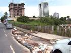Parte de rua cede e é motivo de preocupação para moradores em BH
