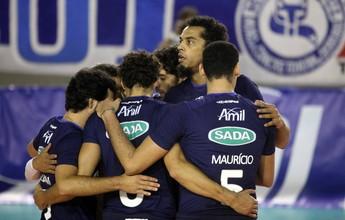 Superliga masculina tem os jogos dos playoffs definidos; Cruzeiro é o melhor