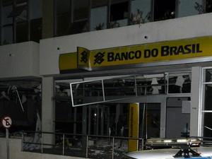 Bando é explodido na Bahia (Foto: Alécio Brandão/ site Macaúbas On Off)