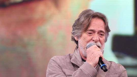 José de Abreu se emociona no 'Arquivo Confidencial' do 'Domingão'